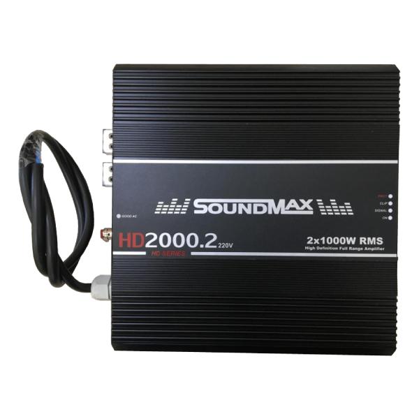 Módulo Amplificador Soundmax HD2000 2 Canais 220V
