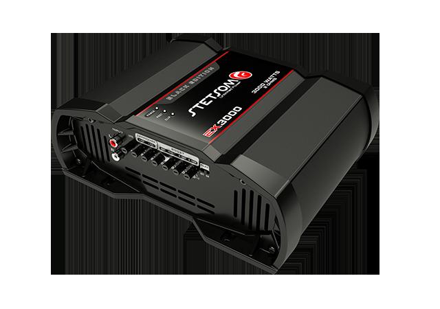Módulo Amplificador Stetsom EX3000 Black Edition 1 Canal 1 Ohms