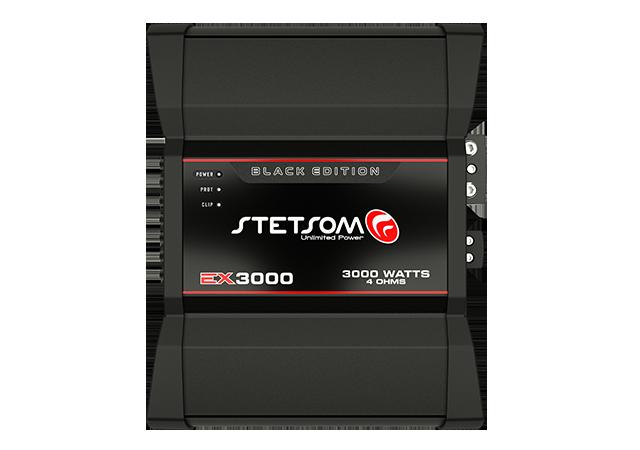 Módulo Amplificador Stetsom EX3000 Black Edition 1 Canal 4 Ohms