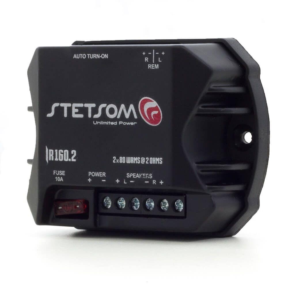 Módulo Amplificador Stetsom IR160 2 Canais 2 Ohms