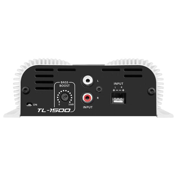 Módulo Amplificador Taramps TL 1500 3 Canais (2 Canais 95 Watts RMS 2 ohms | 1 Canal 200 Watts RMS 4 ohms)