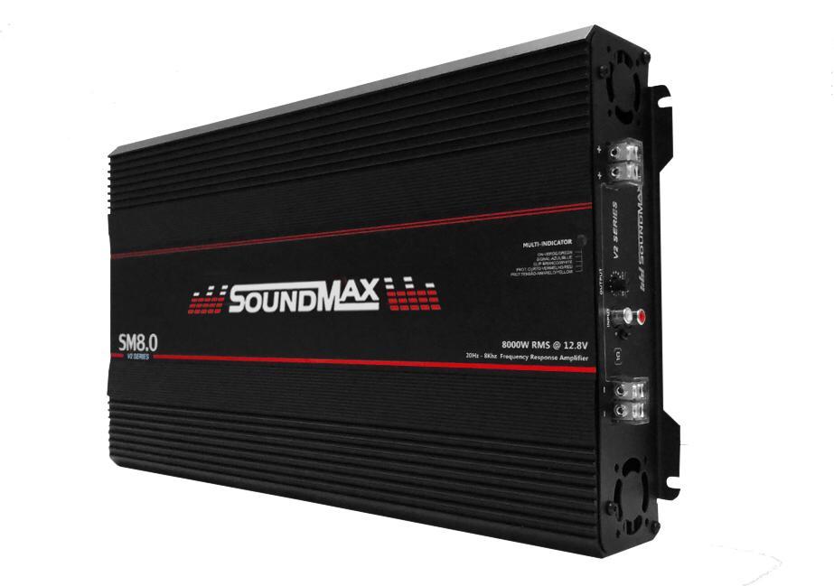 Módulo SoundMax 12V 8.0 2 Ohms