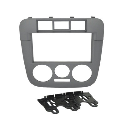 Moldura Fiamon 2 Din VW Gol G4 / Saveiro / Parati Grafite 3206