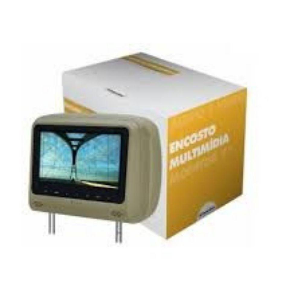 "Monitor Encosto 7"" Banbo Bege com DVD"