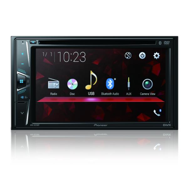 Multimídia Receiver Pioneer AVH-G228BT com DVD