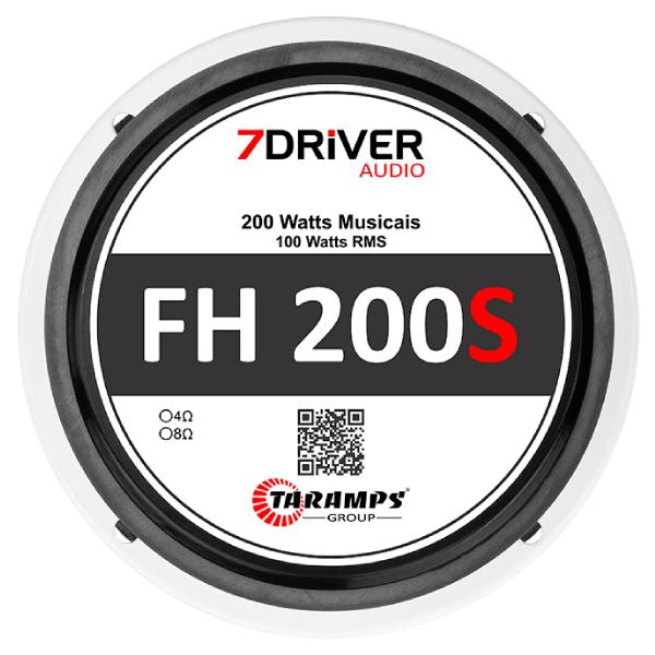 """Par de Alto Falante 7Driver 5"""" FH 200S 200W 4 Ohms"""