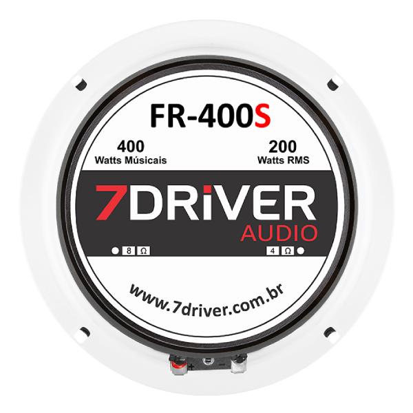 "Par de Alto Falante 7Driver 6"" FR 400S 800W 4 Ohms"