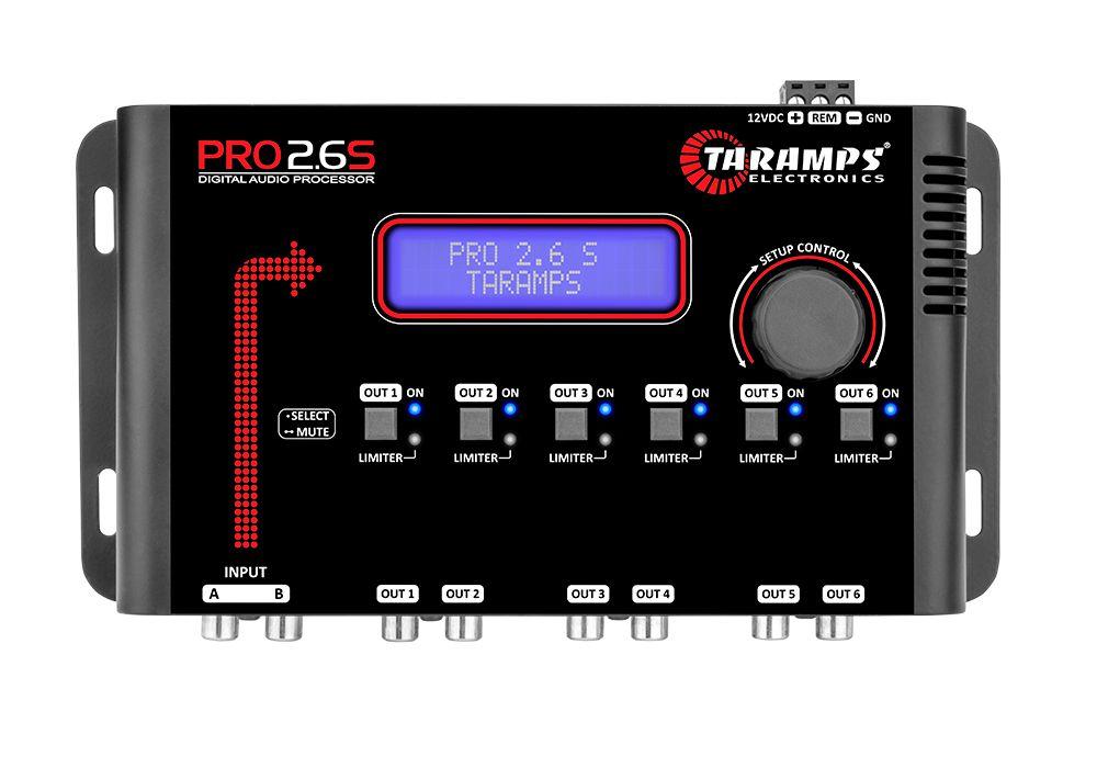 Processador de áudio Taramps PRO 2.6S
