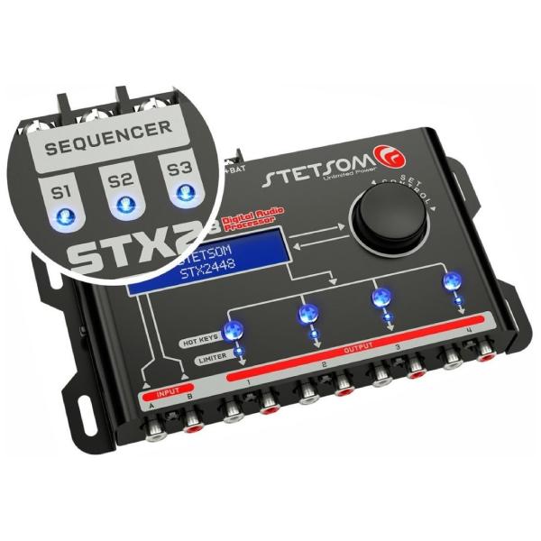 Processador de Audio Stetsom STX 2448 com Sequenciador