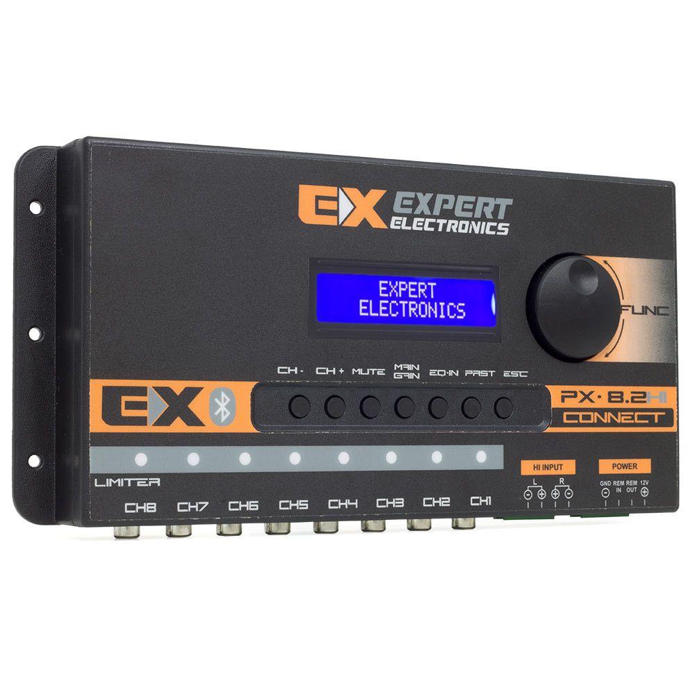 Processador Digital de Áudio Expert PX8.2 Hi-Connect 8 Canais