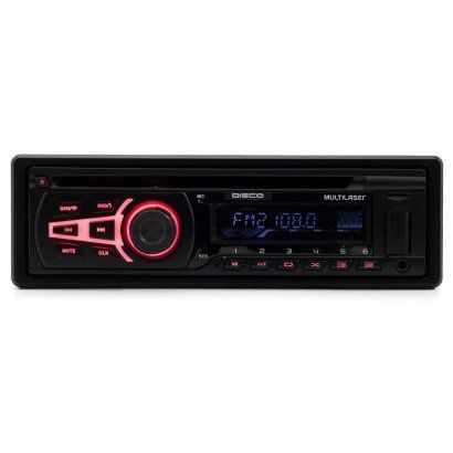 Radio Automotivo Multilaser Bluetooth Disco P3322