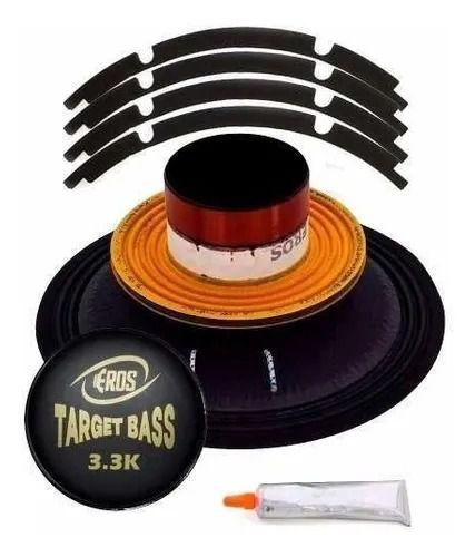 "Reparo Eros 18"" 4 Ohms Target Bass 3k3"