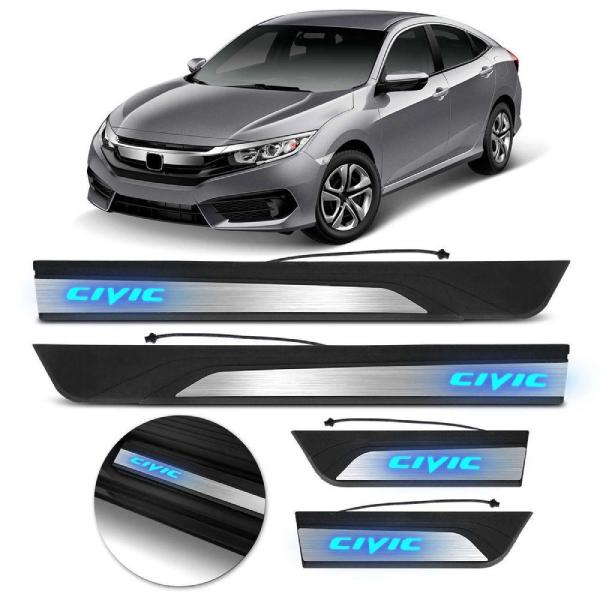 Soleira de LED para Honda Civic