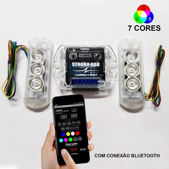 Strobo Zendel RGB Connect Volt com Bluetooth