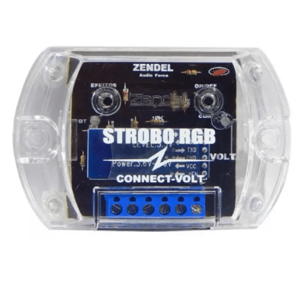 Strobo Zendel RGB Connect Volt com Bluetooth