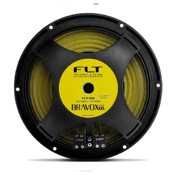 "Subwoofer Bravox 10"" 360W 4+4 Ohms FLT10-D4"