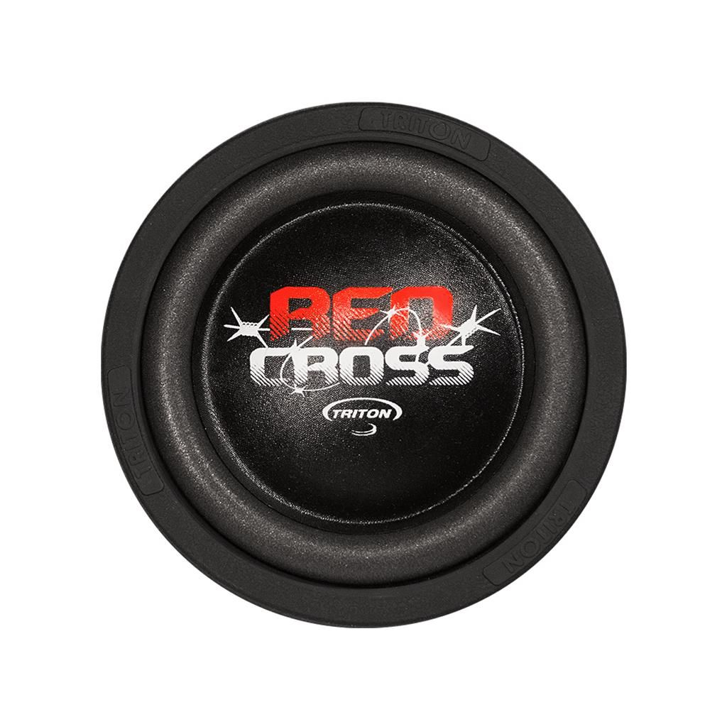 """Subwoofer Red Cross Triton 8"""" 4+4 Ohms"""