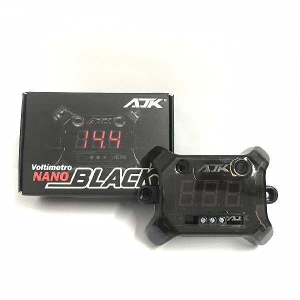 Voltímetro AJK Nano Black