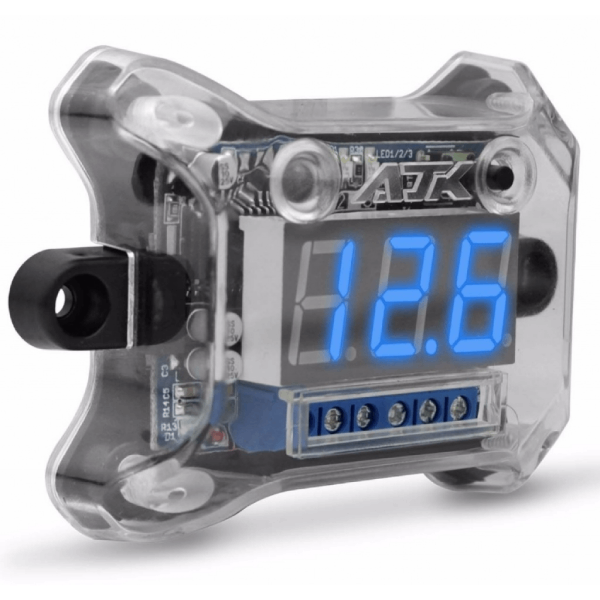 Voltímetro AJK Remote Control com Sequenciador