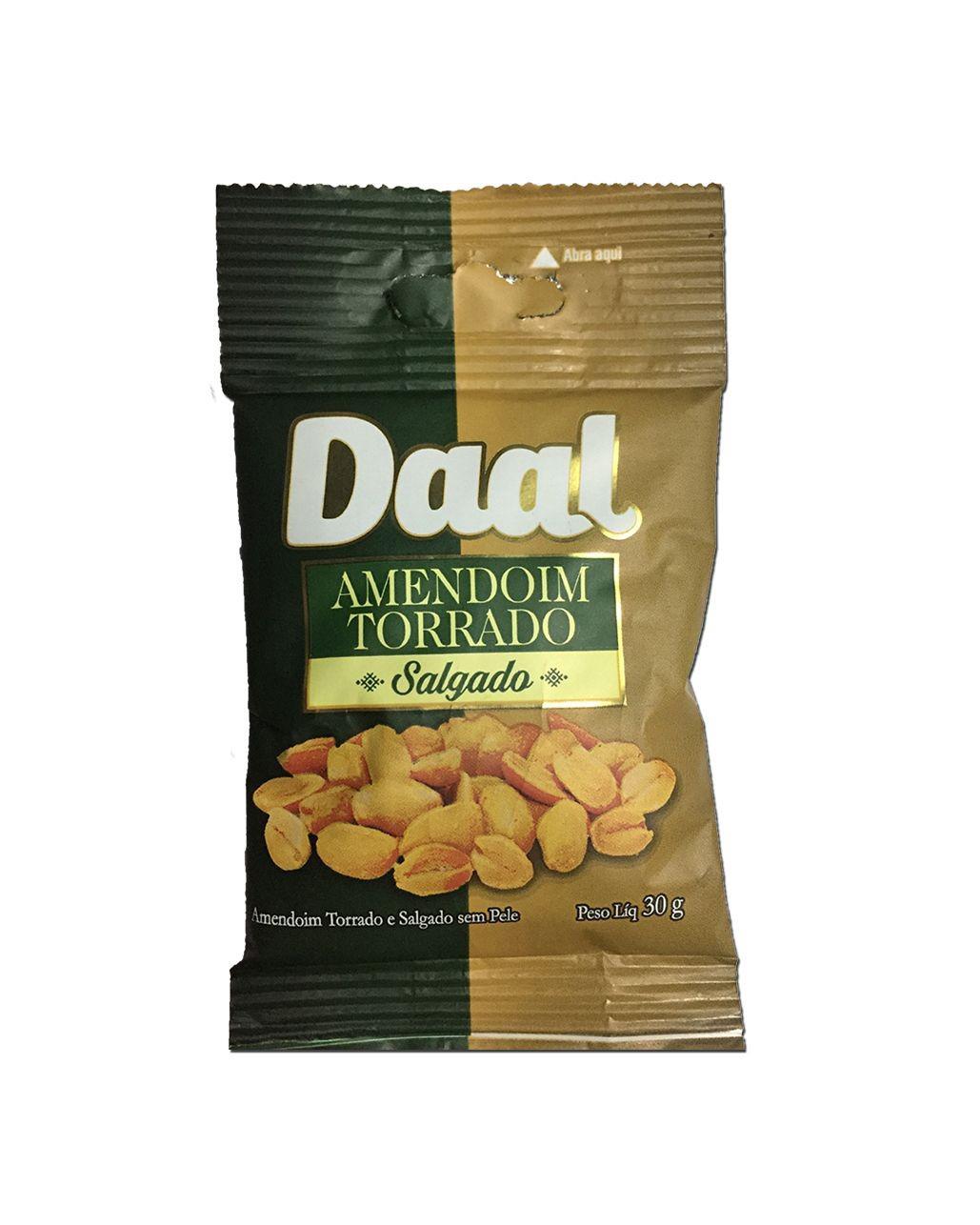 Amendoim Torrado Salgado Daal 30g