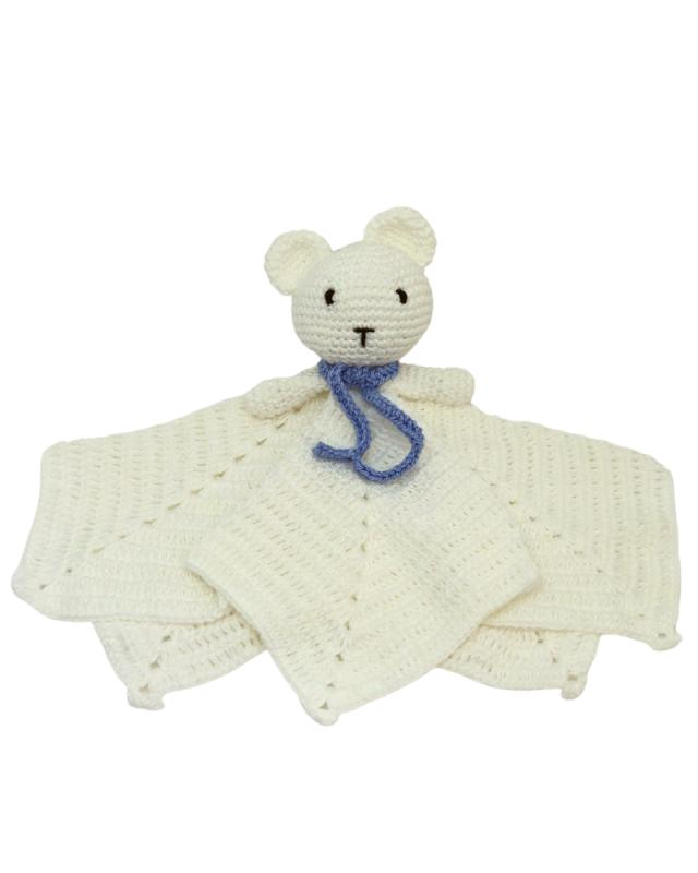 Amigurumi Naninha Urso Azul