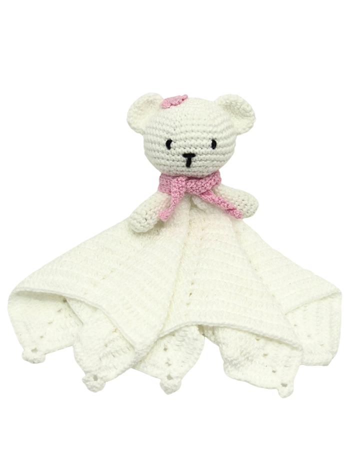 Amigurumi Naninha Urso Rosa