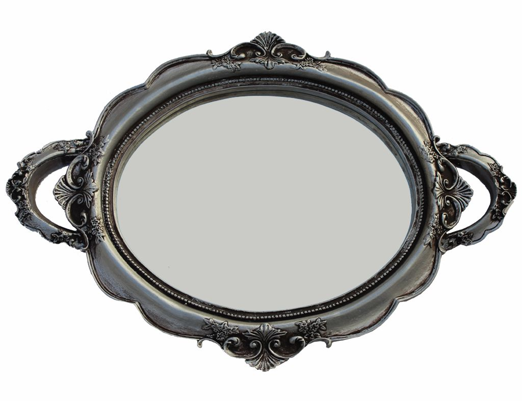 -Bandeja - Firenze prata espelhada