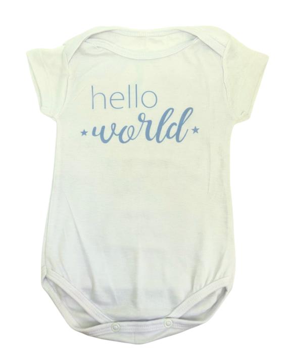 Body Hello World Azul