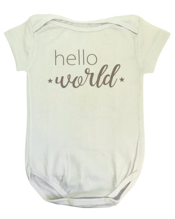 Body Hello World Cinza
