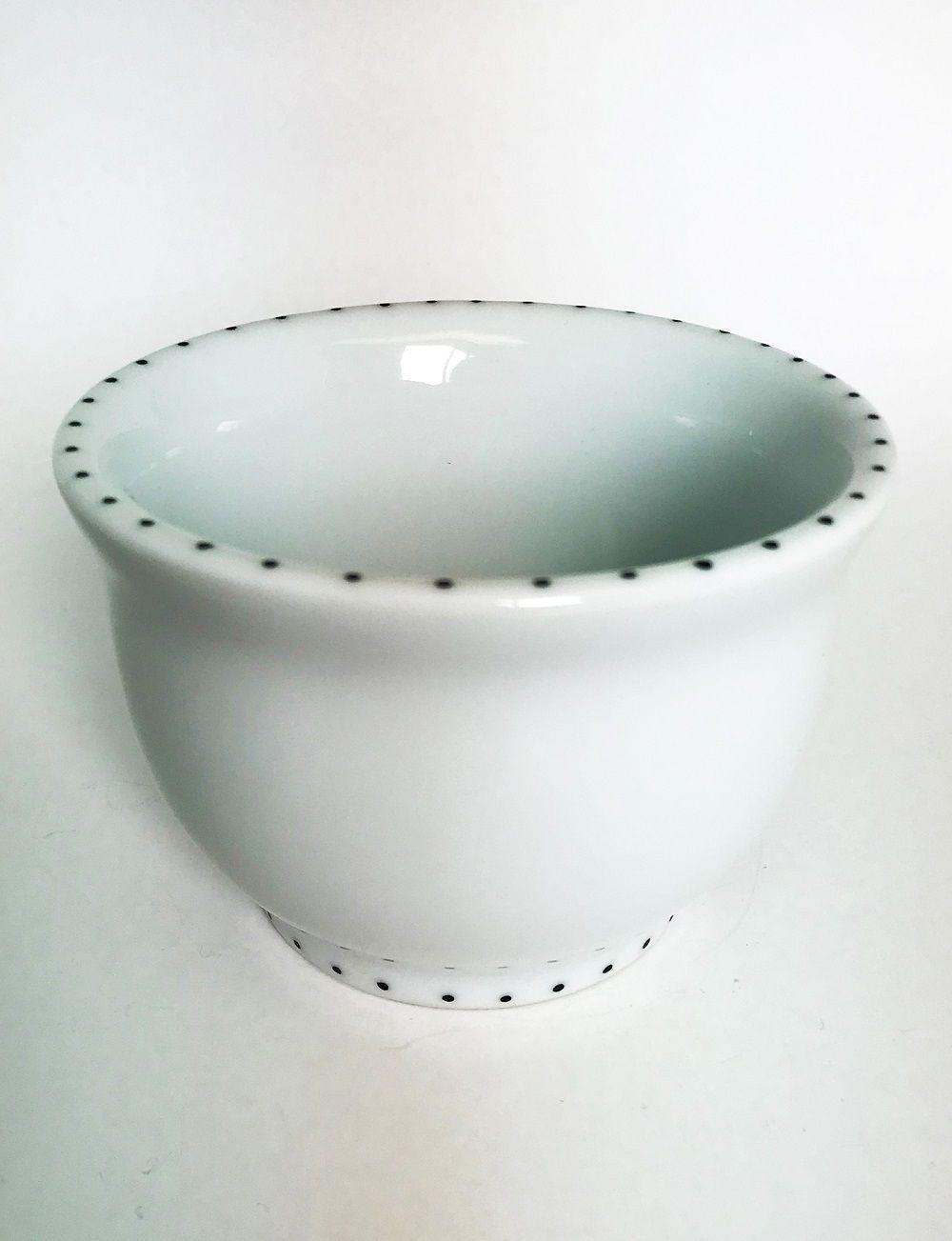 Bowl de Cerâmica Finito Preto e Branco