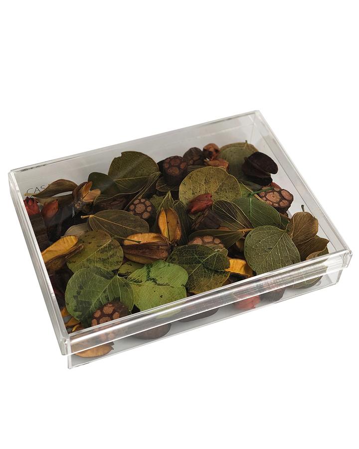 Caixa de Acrílico com Tampa Aromatizadora Pot-Pourri M
