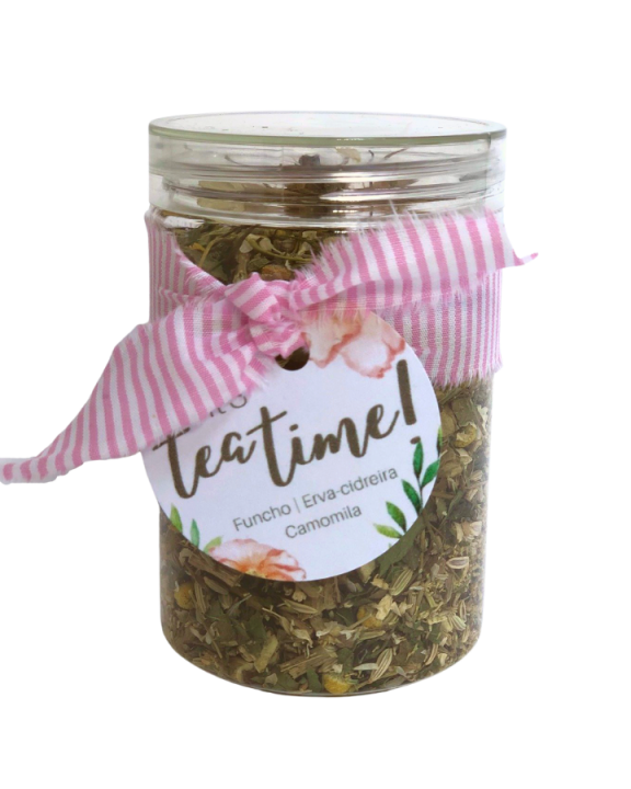 Chá Blend Casa da Mãe Joana Calm no pote 250ml