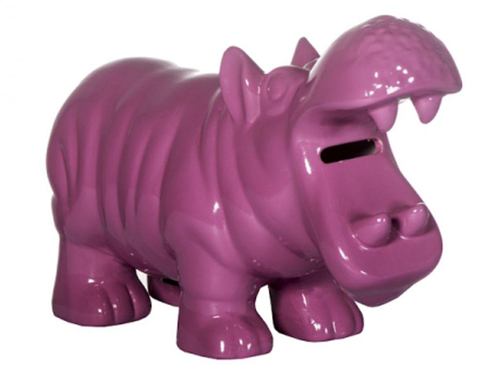-Cofre - Hipopótamo rosa pink