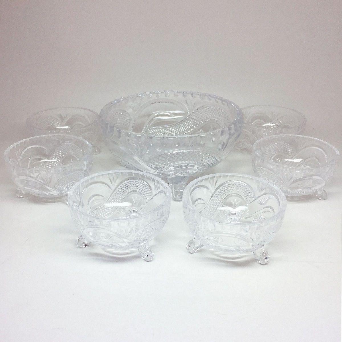 Conjunto para Sobremesa 7 Peças em Cristal de Chumbo