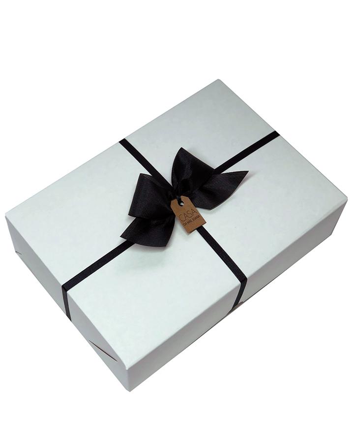 Embalagem Caixa de Presente Branca