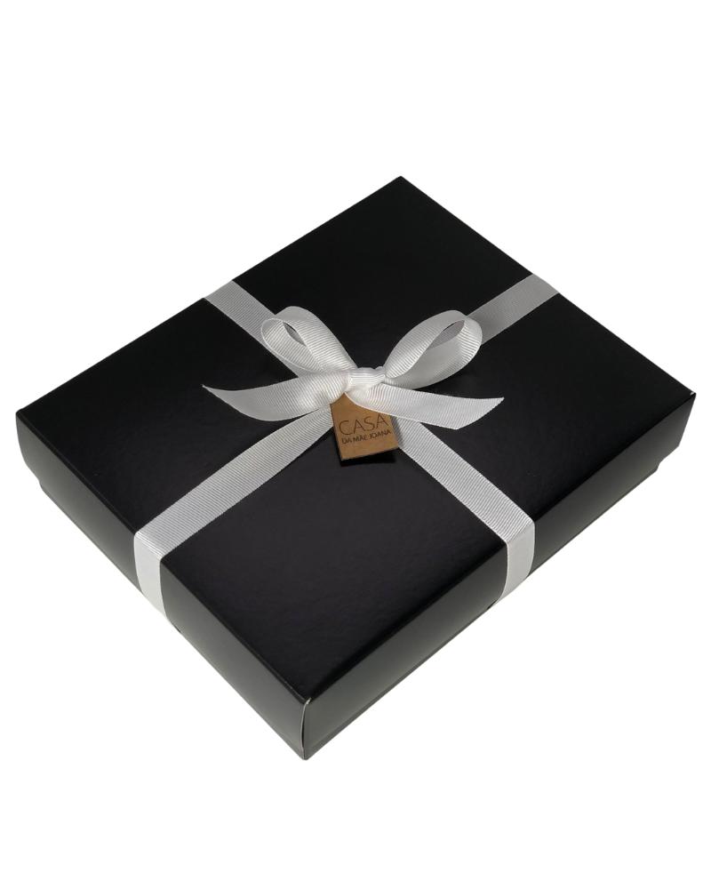 Embalagem Caixa de Presente Espessa Preta