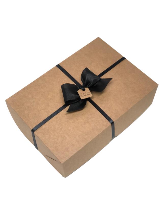 Embalagem Caixa de Presente Kraft