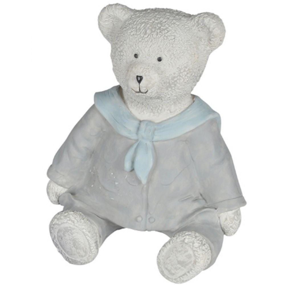 Enfeite Urso Marinheiro Azul