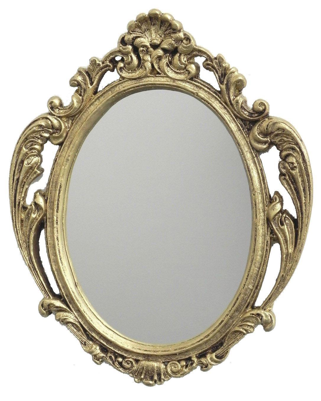 -Espelho - Napoli dourado