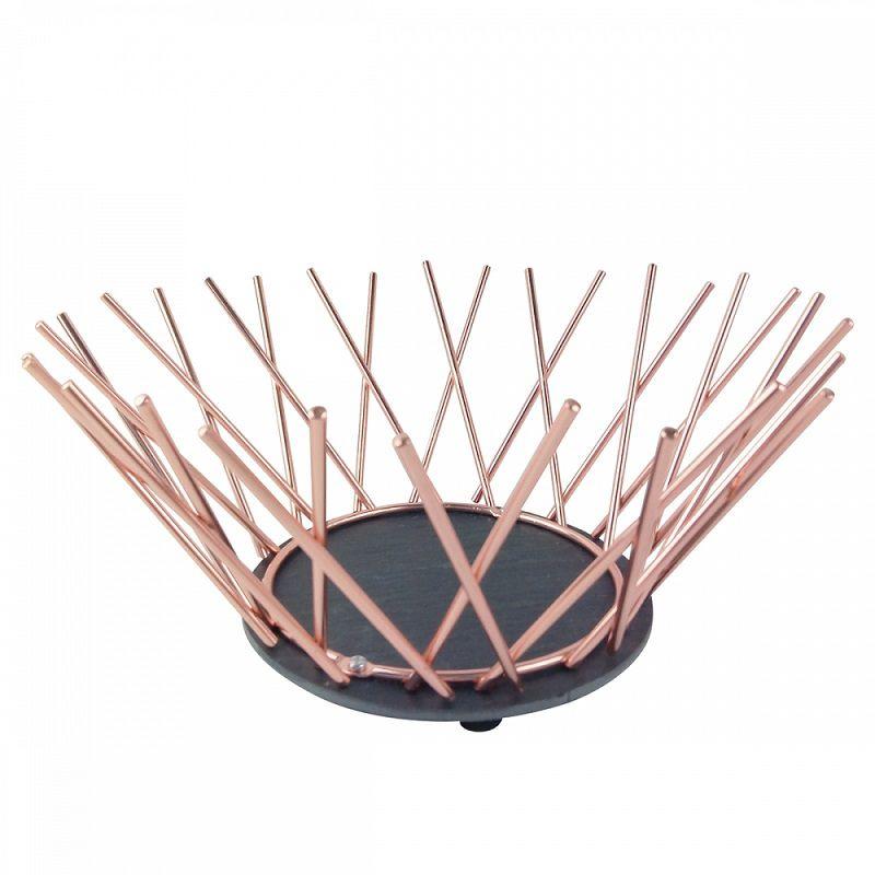 - Fruteira - Metal cobre