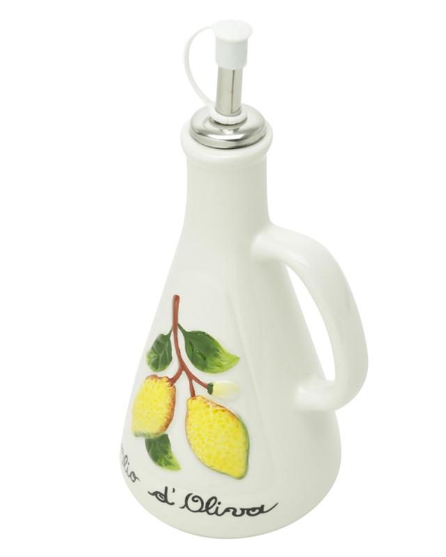 Garrafa para Azeite Limão com Bico Dosador 310ml