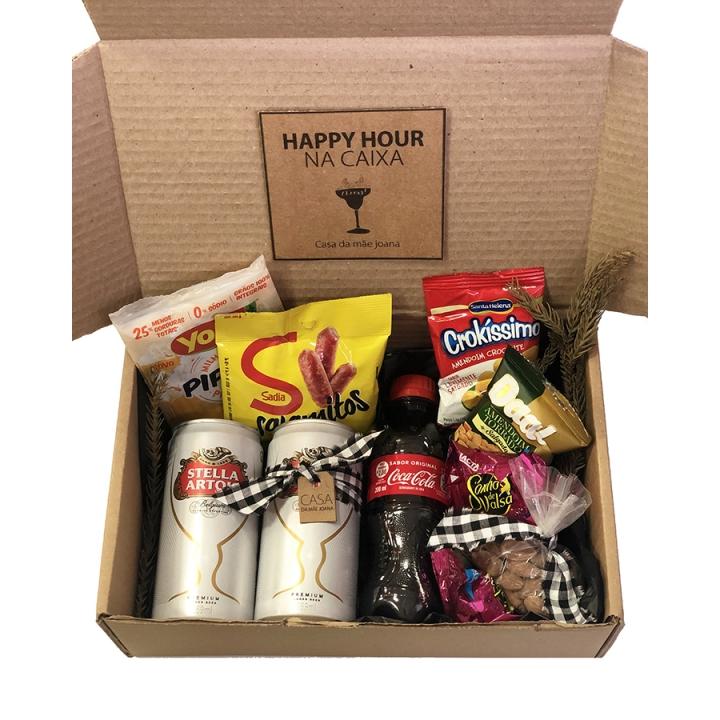 Kit Caixa Happy Hour em Casa