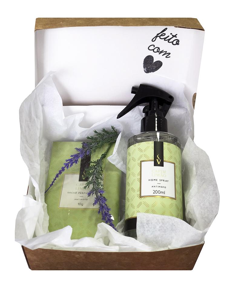 Kit Presente Aroma Casa e Carro