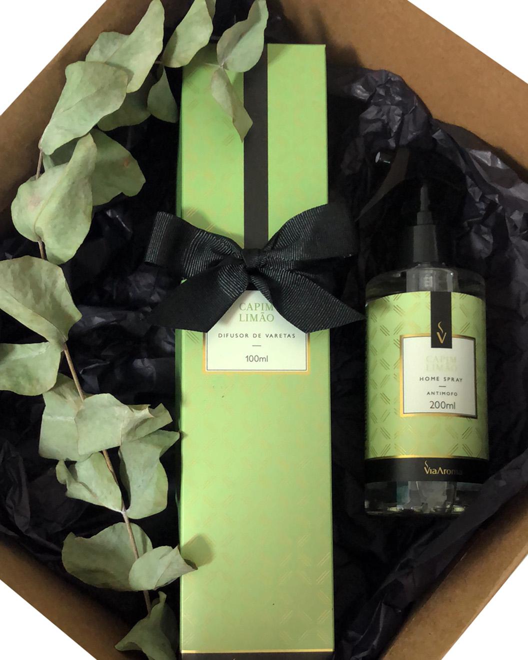 Kit Presente Aroma Casa com Difusor