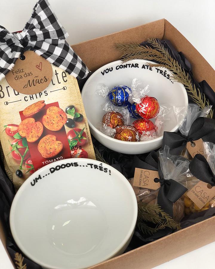 Kit Presente Bowl Frase Mães