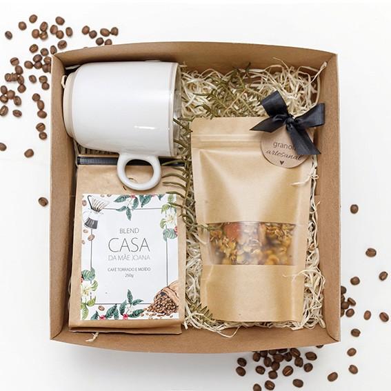 Kit Presente Café com Granola