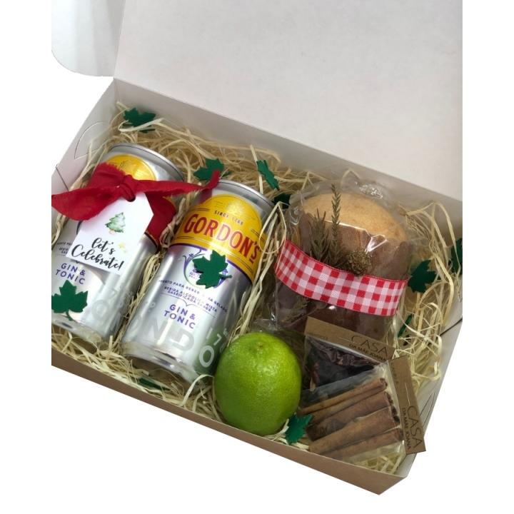 Kit Presente Gin Tônica Natal