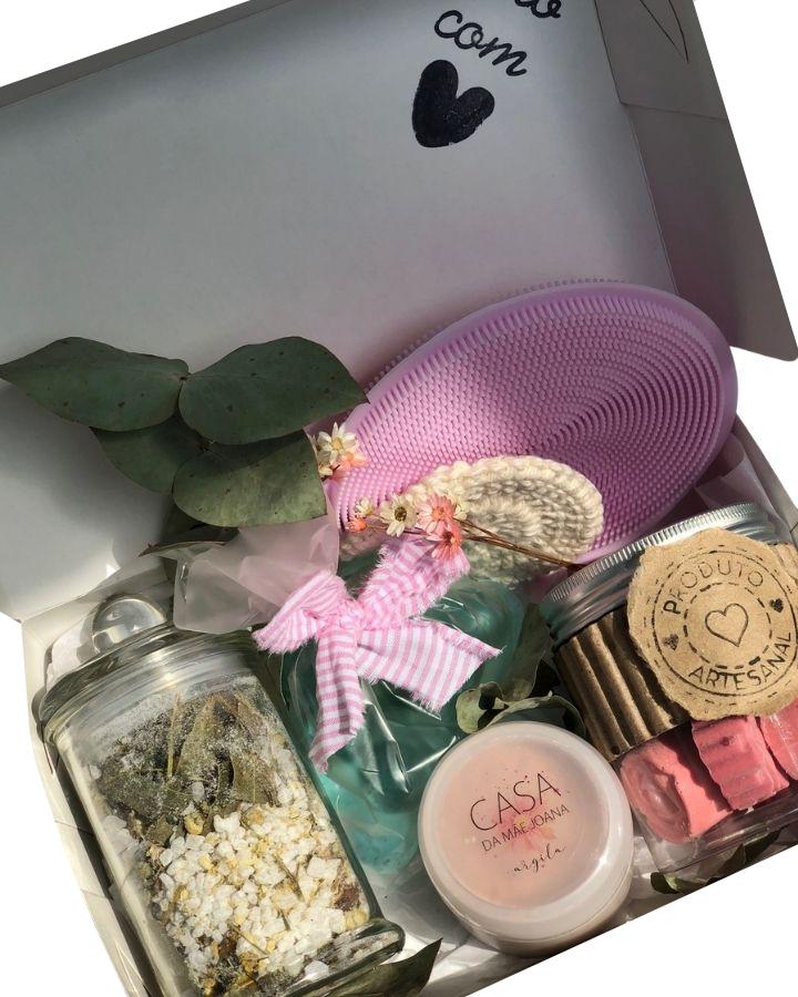 Kit Presente Spa Outubro Rosa