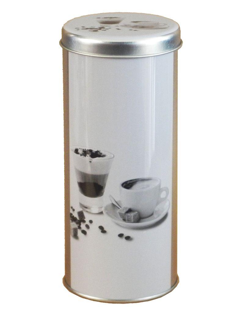 -Lata - Café preto e branco