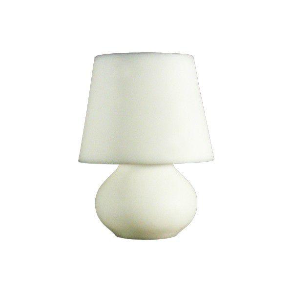 -Luminária - Abajur branco